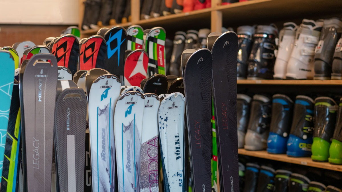Ski & Snowboard Service/Miete
